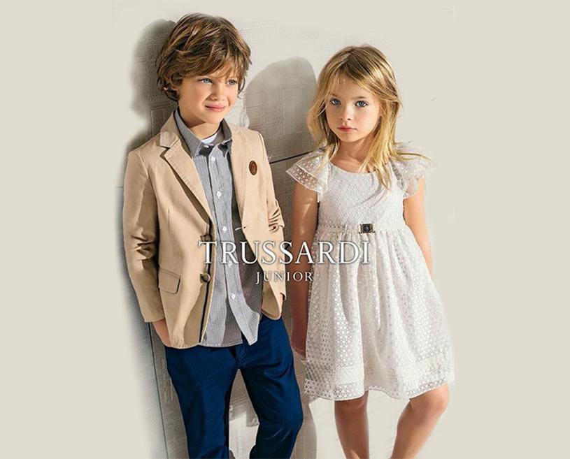 Abiti Eleganti Junior.Trussardi Junior Scopri La Collezione Online Kids